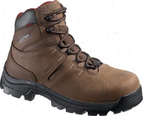 """wolverine Bonaventure Wtaerproof Boot 6"""" (men's) - Brown"""