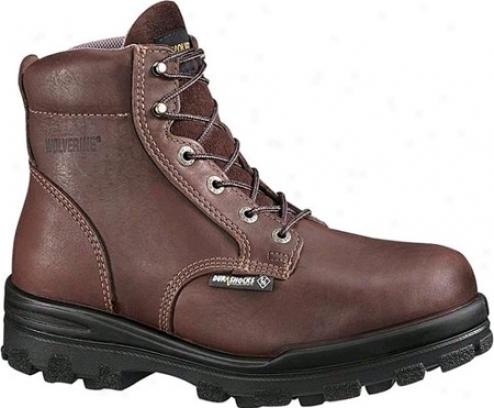"""""""wolverine Durashock Waterproof Boot 6"""""""" Steel Toe Eh (men's) - Brown"""""""