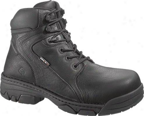"""wolverine Falcon Peak Ag Non-metallic Composite-toe 6"""" (men's) - Black"""