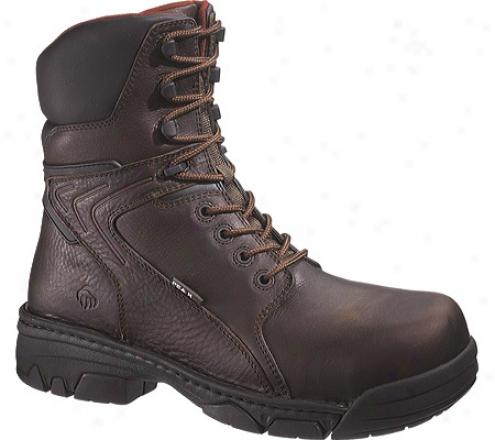 """wolverine Falcon Peak Ag Non-metallicbcomposite-toe Eh 8"""" (men's) - Brown"""