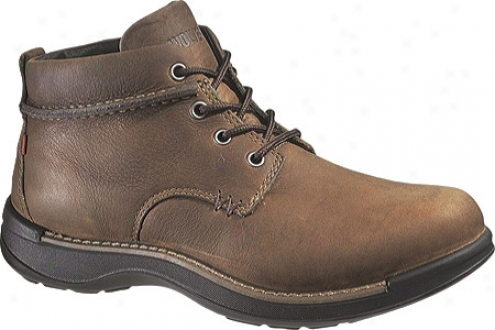 Wolverine Hickory Chukka (men's) - Brown Oiled