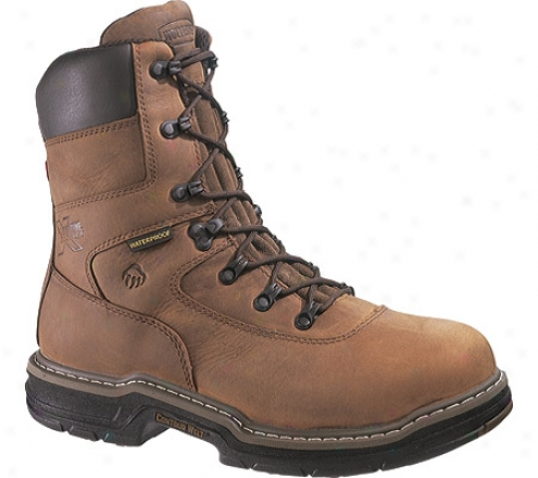 """wolverine Plunderer 8"""" St (men's) - Brown"""