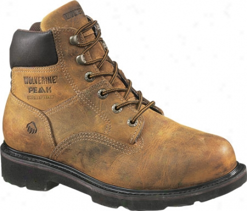 """wolverine Saturn Boot 6"""" St E (men's) - Brown"""
