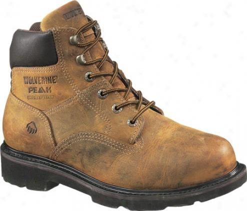 """wolverine Saturn Boot 6"""" St E (men's) - Brown"""
