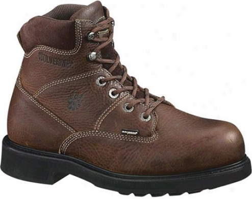 """wolverine Tremor 6"""" Durashocks (men's) - Brown"""