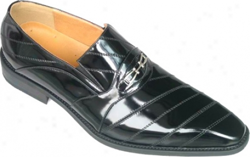 Zota 7201 (men's) - Black Leather