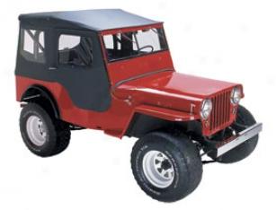 1948-1986 Jeep Cj Bestop Tigertop Soft Top