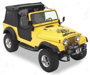 1987-2006 Jeep Wrangler Bestop Sunrider Jeep Soft Top