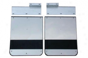 1988-2000 Chevy C/k 3500 Go Industries Stainless Dually Mud Flaps