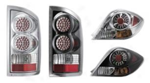 1992-1994 Chevy Blazer Apc Diamond Cut Tail Lights