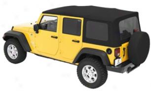 1995 Jeep Wrangler Bestop Sailcloth Replace-a-top Soft Jeep Top 79120-37 Sailcloth Replace-a-top Soft Jeep Top