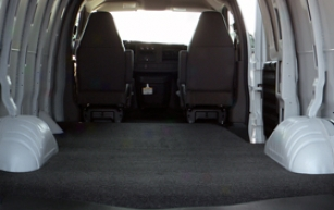 196-2012 Chevy Express Bedrug Vnarug Lading Mat