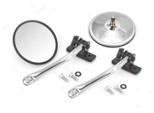 1997-2012 Jeep Wrangler Rugged Ridge Mirror Relocation Kit