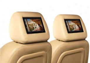 2003 Hummer H2 Vizualogic Roadtrip Rt20 Touchscreen Headrest Monitors