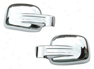2003 Volkswagen Beetle Wellstar Chrome Pattern Covers Ocp-mrcnb70 Side Mirror Cover