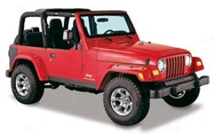2006 Jeep Wrangler Buushwacker Trail Armor Jeep Body Kit 14901