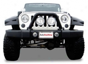2006 Jeep Wrangler Mbrp Jeep Front Light Bar & Grille Guard 131086