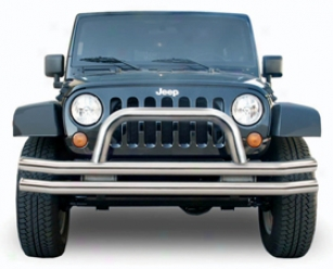 2006 Jeep Wrangler Rampage Jeep Tubular Bumpers 8620 Double Tube Front Bumper