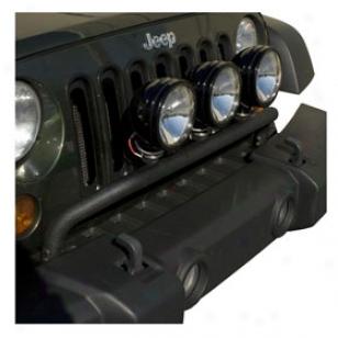 2006 Jeep Wrangler Rugged Extended elevation Jeep Light Bar Kits 12495.06 Jeep Illustration Bar Kit With Black Windshield Light Mou