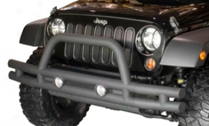 2006 Jeep Honor man Rguged Ridge Tube Bumpers 11570.04 Rear Bumperr With Hitch