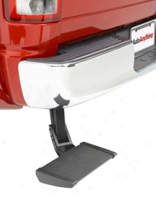2007-2012 Toyota Tundra Bestop Trekstep Retractable Tailgate Action