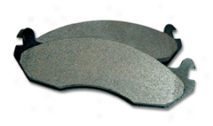 2009 Volvo S60 Posi Quiet Extended Wear Brake Pads 106.07950 Rear Pwds - Full Set