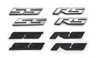 2010-2012 Chevy Camaro Defenderworx Camsro Emblems