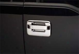 2011-2012 Chevy Cruze Putco Chrome Door Handle Covers
