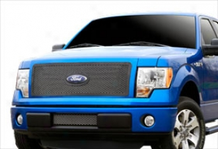 2011 Ford F-150 Carriage Works 3-d Mesh Grilles 39026 Bolt-over Main Grille