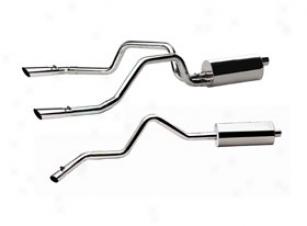 2011 Nissan Armada Gibson Prostrate Systems 12213 Swept Side Exhaust System