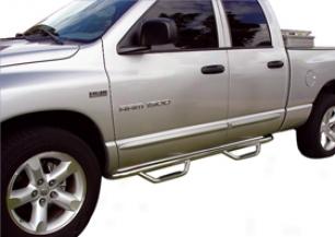 2011 Nissan Titan Go Rhino Dmoinator Ii Cab-length Nerf Bars D24352b Dominator Ii Cab-length Nerf Bars