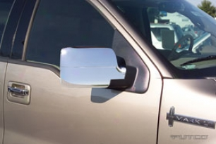 2012 Chevy Cruze Putco Chrome Mirror Covers 400595 Chrome Mirror Covers