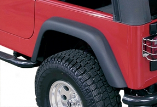 2012 Jeep Wrangler Rugged Ridge Replacement Fender Flares 11609.01 4-piece Kit Without Installation Hardware