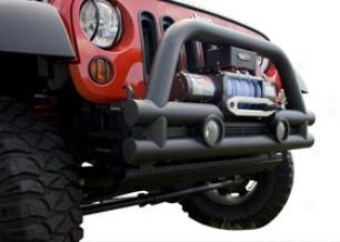 2012 Jeep Wrangler Rugged Ridge Stubby Tube Bumper 11561.12 Stubby Tube Full glass