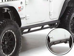 2012 Jeep Wrangler Smittybilt Src Jeep Side Armor & Rocker Guards 76643 Src Rocker Guard