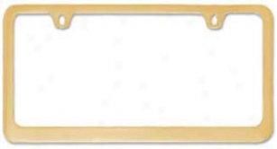 Au-tomotive Gold, Inc. License Plate Frames Lf.449.g 2-hole; Thin Bottom