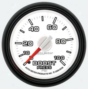 Autometer Dodge Factory Match Gauges 8506 Boost - Full Sweep/mexhanical
