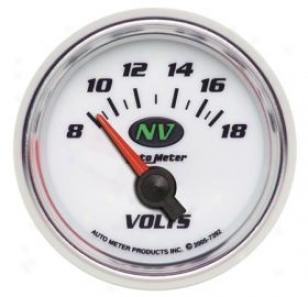 Autometer Nv Gauge s7392 Voltmeter