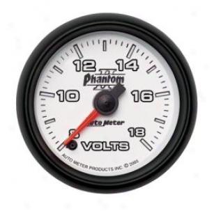 Autometer Phantom Ii Gauges 7591 Voltmeter