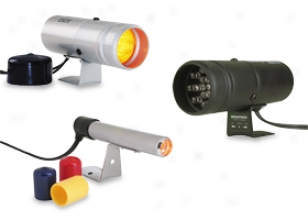 Autometer Shift Lights, Autometer - Automotive Gauges - Shift Lights & Warning Lights