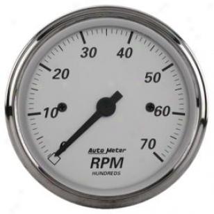 Aitometer Street Rod American Platinim Gzuges 1995 Tachometer - In-dash