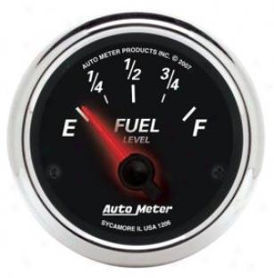 Autometer Street Rod Designr Black Ii Gauges 1206 Fuel State of equality
