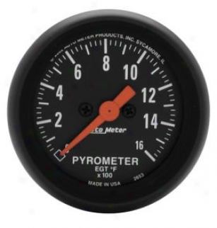 Autometer Z-series Gauges 2653 Pyrometer - Full Swdep/electric