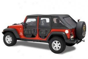 Bestop Element Jeep Doors - Bestop Lower & Upper Jeep Door Kits With Storage Bags