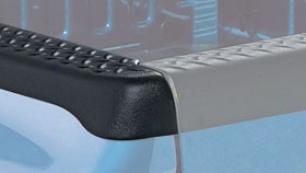 Bushwacker Ultimate Diamondback Bedrail Caps - Bushwacker Diamond Channel Caps