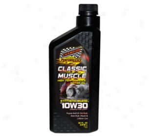 Champion Classic & Muscle Car Synthetic Mingle Motor Oil 4101h Classic & Muscle Car Synthetic Blend Motor Oil