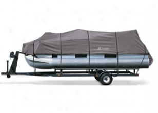 Classic Accessories Stormpro Pontoon Boat Cover 20-027-080801-00 Stearns Stormpro Pontoon Boat Cover