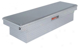 Delta Pro Aluminum Single Cover Crossover Toolbox Pac1580000 Fullsize