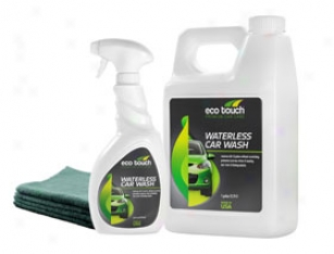Eco Touch Waterless Car Wash Kit - Waterless Carr Cleaning Kit