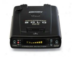 Escort Solo S3 Radar Detector Solos3 Solo S3 Rdaar Detector